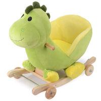 木马音乐摇马实木底座两用摇椅摇摇马玩具礼物1-3岁