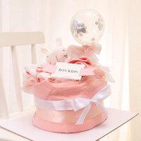新生儿礼盒春夏03个月6婴儿套装纯棉衣服*刚出生宝宝满月礼物
