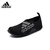 阿迪达斯adidas童鞋18新款运动鞋儿童网鞋男童户外透气休闲鞋 (5-15岁可选) AC8298