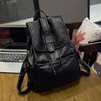 女包2017新款韩版真皮双肩包软皮包包女士牛皮背包旅行包