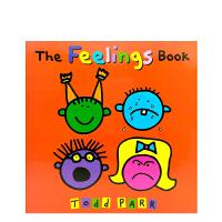 英文原版 The Feelings Book 了解自己的感受 [平装] [2~5岁]