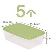 冰箱保鲜盒塑料零食物食品储物收纳盒子微波炉透明长方形鸡蛋抖音同款