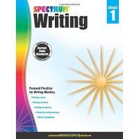 【现货】英文原版 光谱写作 1年级 Spectrum Writing, Grade 1 6-7岁