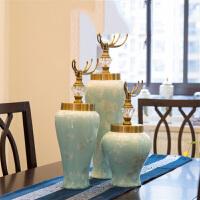 家装客厅电视柜摆件花瓶陶瓷创意装饰品家居摆设饰品装饰工艺品