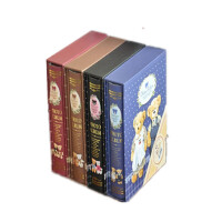 卡通小熊系列相册 4D/大6寸40张盒插页式影集螺丝装订相册本 2109-2