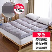 加厚床垫双人1.5m1.8米床榻榻米软床褥子垫被1.2单人学生床垫宿舍