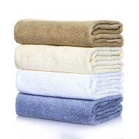 日本爱尚佳品长绒纯棉毛巾2条吸水洗脸毛巾方巾R1010