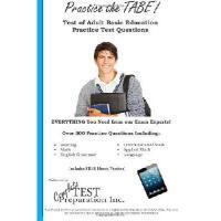 【预订】Practice the Tabe! Test of Adult Basic Education Practi