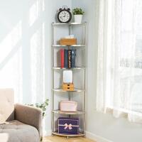 【领券满减】ORZ 三层可伸缩调味料架子书架 铁艺厨房用具收纳架宿舍桌面置物架