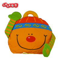 LALABABY/拉拉布书 儿童玩具抱枕头书收纳包 宝宝多功能抱枕包