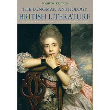 【预订】The Longman Anthology of British Literature, Volume 1c: Restoration and the Eighteenth Century P 美国库房发货,通常付款后3-5周到货!