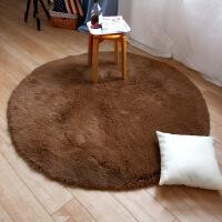 日式圆形地毯家用客厅茶几毯卧室床边大地垫吊篮转椅防滑脚垫垫子