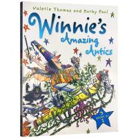 英文原版 Winnie's Amazing Antics 3-in-1 女巫温妮 魔法故事插图童书 英文版儿童绘本 进口书籍正版 OUP Oxford