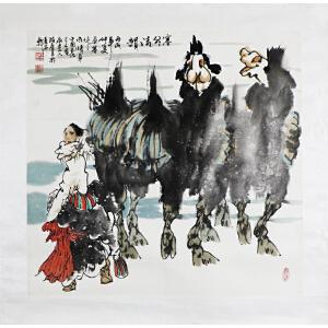 段庆昌《塞外青�》a52