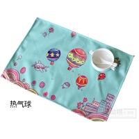 餐垫隔热垫小学生吃饭卡通桌垫40X60可折叠加厚耐热防油防滑餐布