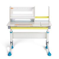 2平米 骑士彩虹版儿童学习桌椅套装 实木桦木 可升降学生书桌