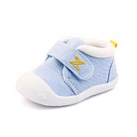 6-12个月婴儿软底鞋0-1岁男女宝宝夏季单鞋春秋棉布鞋子学步鞋