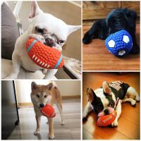 【支持�Y品卡】狗狗玩具�l�玩具球泰迪法斗小狗金毛大型犬磨牙耐咬����物用品hu8