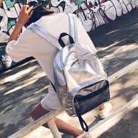 韩版原宿ulzzang 书包女高中潮背包学生校园简约个性大容量双肩包