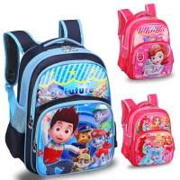 幼儿园宝宝书包儿童3-5-6岁男女孩可爱 汪汪队索菲亚卡通双肩背包