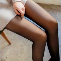 假透肉打底裤连裤袜春秋冬薄款单层一体加绒加厚防勾丝袜女黑肉色