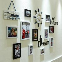 创意简约个性照片墙装饰相框挂墙组合客厅卧室房间背景相册相片墙
