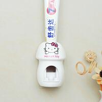 挤牙膏卡通壁挂式可爱单个免打孔牙膏架懒人全自动牙膏挤压器