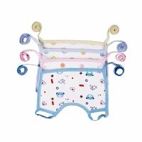 纯棉婴儿童按扣花瓣防水围兜宝宝口水巾嘴垫秋季冬季保暖围脖