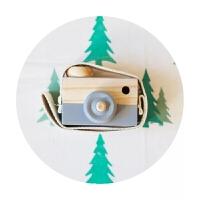 ins超火的木质儿童玩具相机 北欧模型摆件桌面拍摄道具照装饰挂件