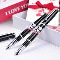 正品花花公子钢笔诺85系列对笔 钢笔+宝珠笔 商务礼品