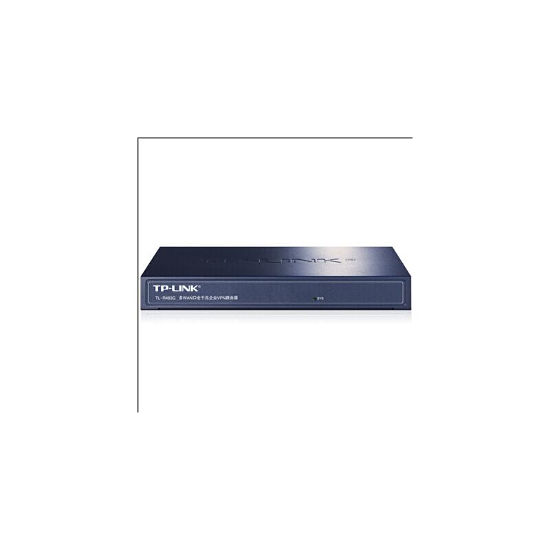 普联TP-LINK TL-R483G多WAN口全千兆高速宽带路由器 PPPOE服务器