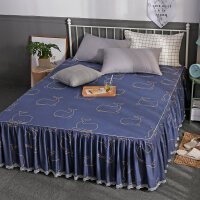 防尘罩棉席梦思床裙单人床单件棉床罩防尘保护套床套床笠床盖