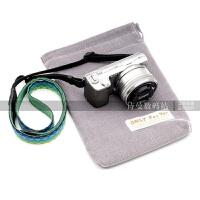 松下微单相机包GF8 GF9 GF7 尼康D3300 D7200 D750加厚绒收纳袋