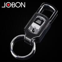 汽车钥匙扣男士腰挂金属情侣钥匙扣简约小礼物
