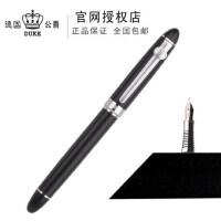 德国公爵duke96A-3纯黑钢笔/铱金笔/墨水笔/练字笔