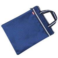 晨光ABB93165 手提资料袋 A4拉链袋 双层文件包 竖式文件袋