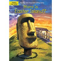 【现货】英文原版 Where Is Easter Island? 复活节岛在哪儿? who was/is认知系列 中小学