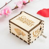 创意家居音乐盒木质工艺现代简约游戏音乐盒 6.4cm*5.2cm*4.2cm
