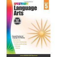 【现货】英文原版 光谱语言艺术(语文)5年级 Spectrum Language Arts, Grade 5