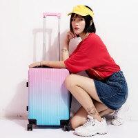 韩版行李箱女小清新皮箱拉杆箱万向轮20寸大学生个性可爱旅行箱潮