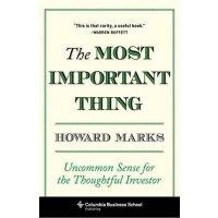 英文原版 霍华德・马克斯:投资*重要的事 Howard Marks: The Most Important Thing