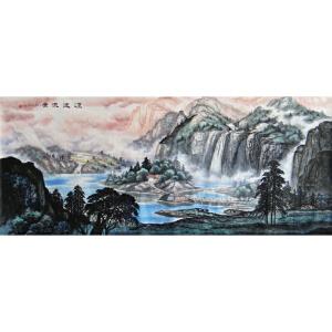 实力派彩墨画家   王红彦   源远流长   /2-40