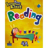 原版培生朗文少儿英语教材 Primary Longman Elect Reading 4A 阅读练习册 6-12岁香港小