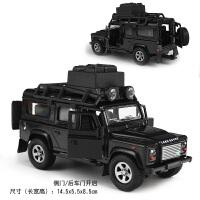 1:36路虎卫士合金汽车模型 旅行车 越野车 回力声光玩具 极光揽胜