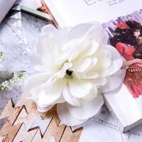 婚庆绢花仿真玫瑰绣球花背景墙花墙装饰diy花头拱门路引活动开业