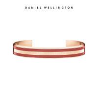 Danielwellington丹尼尔惠灵顿红色限量款手镯新品 百搭简约饰品男女手镯dw手镯