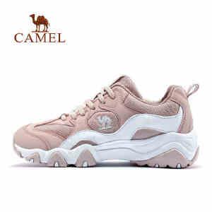 【满259减200元】camel骆驼运动鞋女休闲鞋 轻便防滑透气耐磨轻便舒适时尚跑步运动鞋