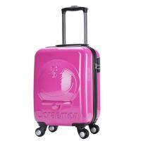 儿童拉杆箱 密码箱 旅行箱 万向轮女宝宝立体KT猫行李箱 拖箱 登机箱