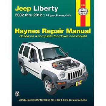 【预订】Haynes Jeep Liberty Repair Manual: 2002 Thru 2012: All Gasoline Models 美国库房发货,通常付款后3-5周到货!