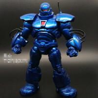 钢铁侠装甲铁霸王组合巨人 铁芒果可动人偶手办模型漫威汽车摆件